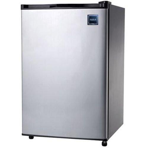 RCA 4.6 Cu Ft Refrigerator Stainless Door Curtis RFR465