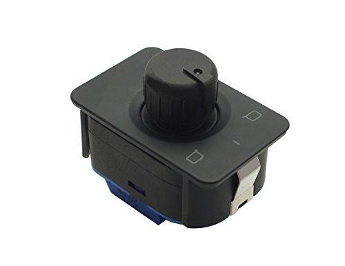 KS-ecs 4B1959565A/4B1 959 565 A for AD/A6 C5 OE Style Side Mirror Control Switch Knob