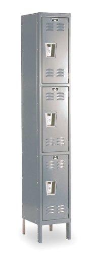 Premium 3 Tier 1 Wide Traditional Locker Dimensions (W x D x H): 12