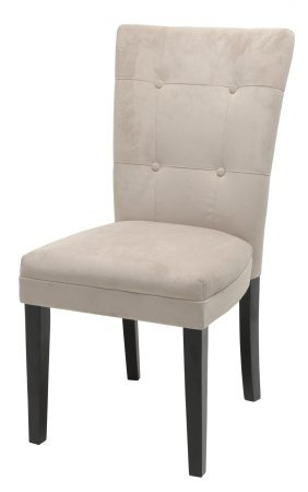 Steve Silver Furniture Matinee Parsons Chair In Beige Set Of 2