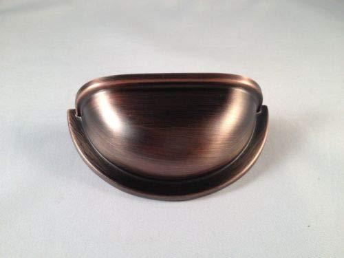 - Cup Pull Kitchen Cabinet C.C.:3'', Antique Copper