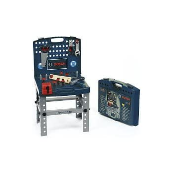 theo klein bosch toy tool shop blue toys games. Black Bedroom Furniture Sets. Home Design Ideas