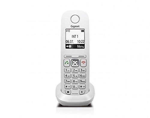 Gigaset A540 CAT Dect-Schnurlostelefon (Mobilteil, VoIP, exclusiv für den Einsatz an Routern mit Dect CAT iq 2.0) weiß