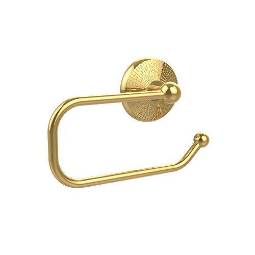 Allied Brass MC-24E-PB Monte Carlo Collection European Style Toilet Tissue Holder, Polished -