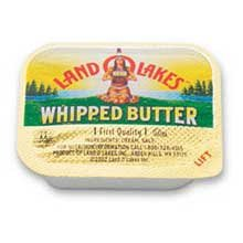 Land O Lakes Whipped But-R-Cups Salted, 5 gram Cups - 720 cups per ()