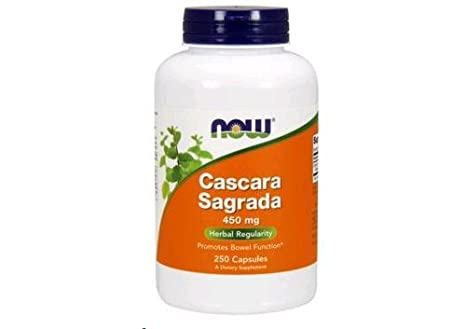 Cascara Sagrada 450mg 250 Capsules