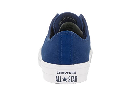Converse Mens Chuck Taylor All Star Low Ii Sneaker Marine Blauw-wit