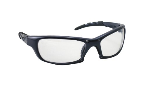 SAS Safety 542-0300 GTR Eyewear with Polybag, Clear Lens/Charcoal - Z87 Ansi 2015 1