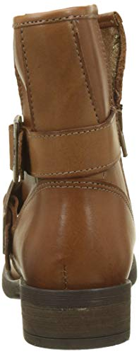 Mujer Cognac Leather Para Des Cognac leather Temps Marrón Cerises Le Botines Janis zYgYvB