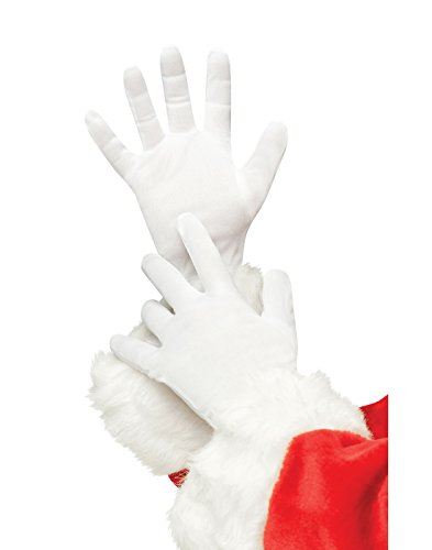 Plus Size Deluxe Santa Gloves (Standard Knit Glove)