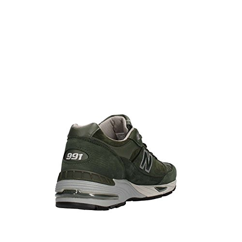 Herren Verde Sneaker militare Balance M991SDB New qBzSFw