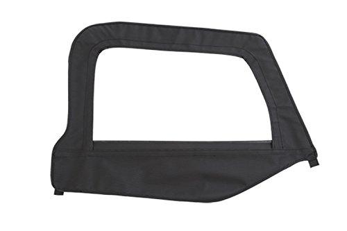 Smittybilt Door Skin (Smittybilt 79515 Denim Black Passenger Side OEM Replacement Soft Top Door Skin with)