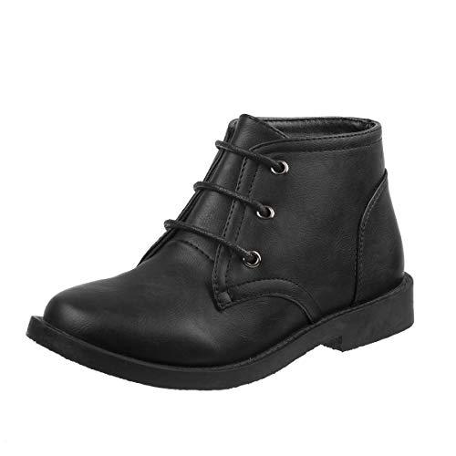 - Joseph Allen Boys Desert Chukka Work Boot, Black Size 7'
