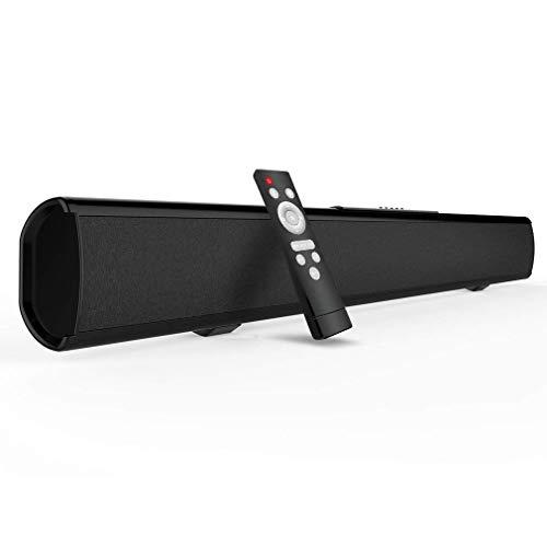 2.1 Channel Bluetooth Sound Bar, Meidong TV Soundbar Built-i