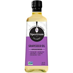 (Spectrum Naturals Refined Grapeseed Oil, 16 oz.)