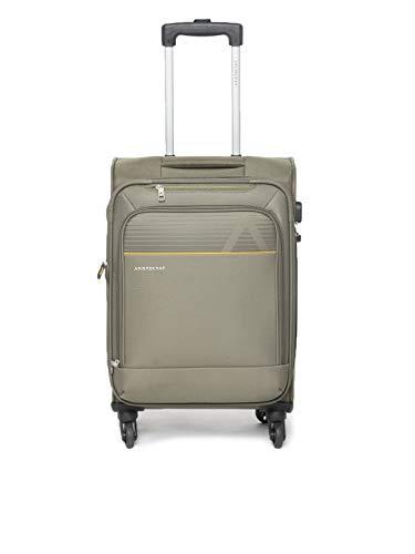Aristocrat Polyester Cabin Luggage  STAVLH58OLV_Green