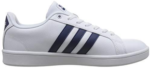 ftwwht Uomo Advantage Adidas dkblue cblack Cf dkblue Scarpe Da Tennis Bianco cblack Ftwwht rxq04XWq5w
