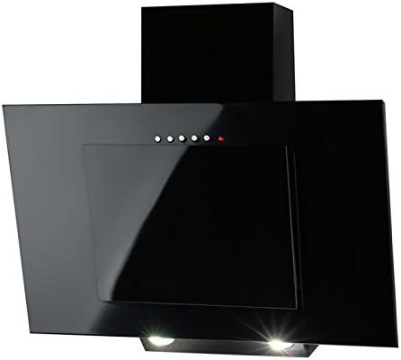 Campana extractora para cocina Akpo Nero, 50 cm, color negro ...