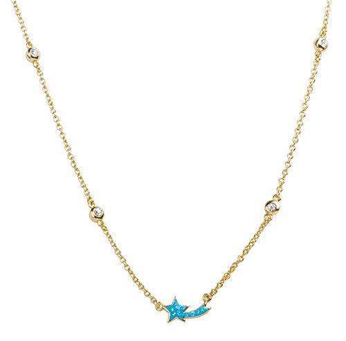 Childrens Enamel Star (Girl Nation Little Treasures Collection Enamel Shooting Star 16