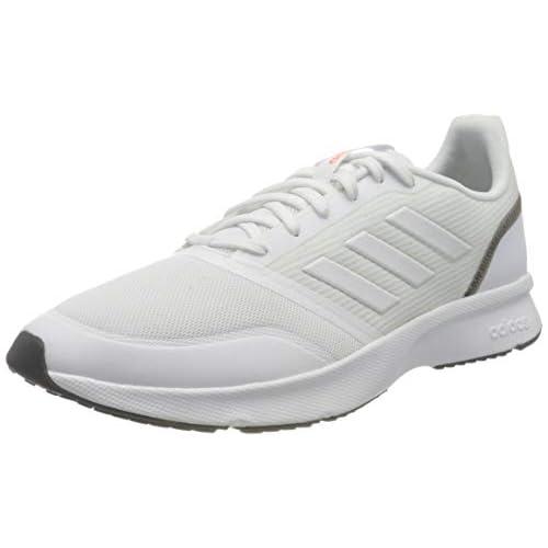 chollos oferta descuentos barato adidas Runfalcon K Zapatillas para Correr Unisex Adulto Azul Oscuro Blanco Blanco Negro Núcleo 42 2 3 EU