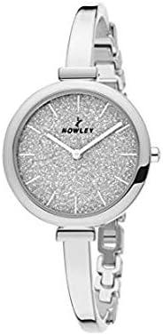 Reloj NOWLEY 8-5773-0-1 - Reloj mujer WR 3 atm con caja y brazalete de metal plateado.