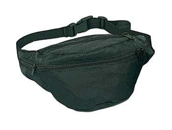 Rothco Fanny Pack – Black, Outdoor Stuffs