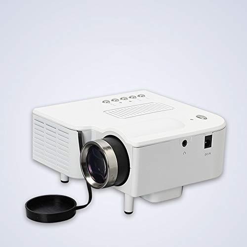 NBSL Mini Projector, UC28 HD Home 1080P Micro Portable Led Projector, Support MP4, RMVB, WMV, VOB, 1080P HD Playback, Support Avi, HDTV (720p, 1080i/P 60Hz)