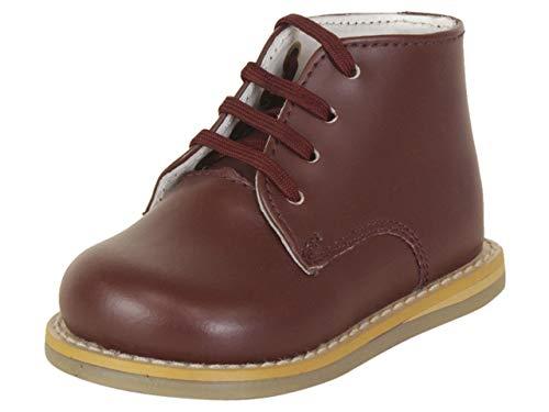 JOSMO Infant Boy's Logan Burgundy Oxfords Shoes Sz: 2