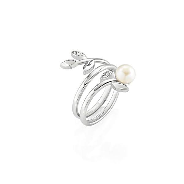Morellato Anello Donna Gioia Acciaio Inossidabile Cristallo Bianco saer26018