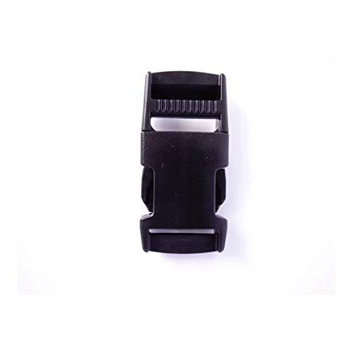 100個セット NIFCO ニフコ SR25 プラスチック バックル 黒 25mm巾用 ベルトの長さ調節などに 100個セット  B07K2V7N1T