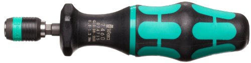 Hexagon Torque Screwdriver - Wera 05074715001 Kraftform 7460 Hexagon Torque Screwdriver, 1/4