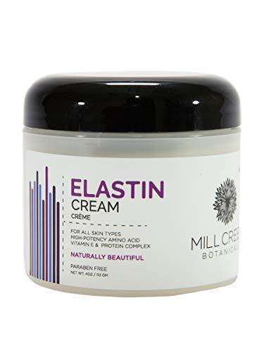 Elastin Moisturizing Cream - Mill Creek Botanicals Elastin Cream , 4 Ounce