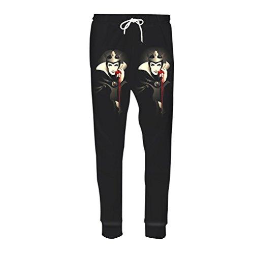 Pantalon Décontracté Hommes Pantalons De Fitness Sorcière Reine Fruit 3d Sueur Impression Sweatpants Joggeurs Hip Hop Unisexe Pantalons Anime2