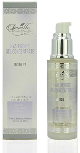 Hyaluronic Gel Edition 7 with Chamomile Mallow Calendula MADE IN GERMANY I Hyaluronic Acid Gel I Hyaluronic Booster I Anti-Wrinkle Face Care I Anti-Aging without Paraben I Anti-Aging Gel