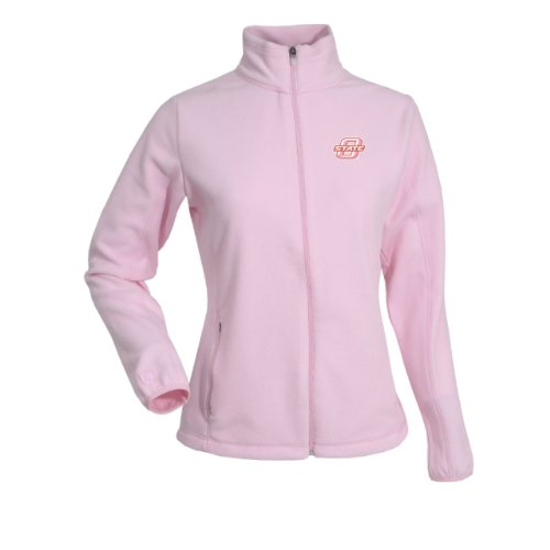 (NCAA Women's Oklahoma State Cowboys Sleet Polar Fleece, Mid Pink, X-Large)