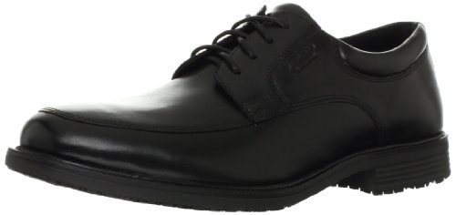 Rockport Men's Essential Details Water Proof Apron Toe Oxford-Black-10.5 M