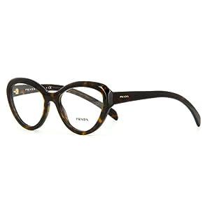 Prada Eyeglasses PR25RV 2AU1O1 Havana 52 18 140