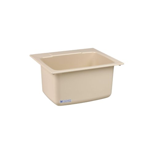 Mustee 10BN Utility Sink, 22-Inch x 25-Inch, Bone by Mustee