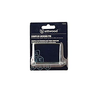 attwood 11029-6 Zinc-Plated Steel Trailer Safety Coupler Locking Pin: Sports & Outdoors