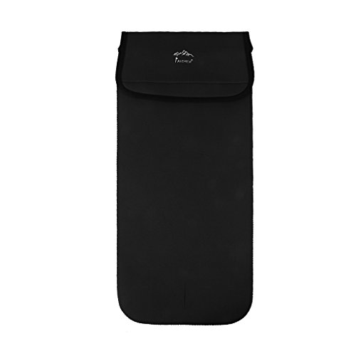 Wasserblase Wärmedämmung Aufbewahrungstasche Tasche - Schwarz Klein