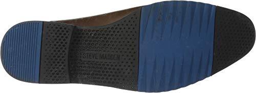Steve Men's Leston Brown Chelsea Madden Boot 550ZxrB