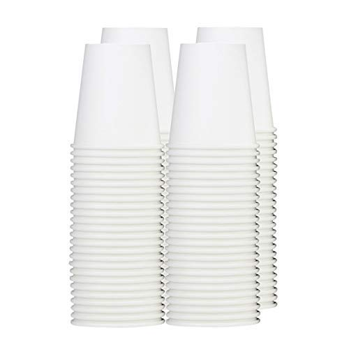 [150 Count] 8 oz. Paper Hot Cups - Coffee Cups -