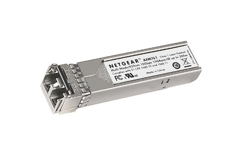 NETGEAR ProSAFE 10GBASE-SR SFP+ LC GBIC (AXM761-10000S) by NETGEAR