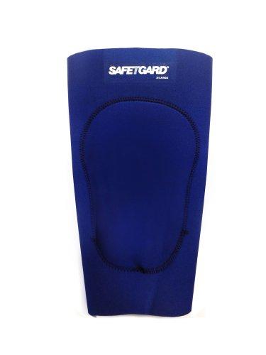 SafeTGard Adult Neoprene Wrestling Knee Support (Navy Blue, X-Large)