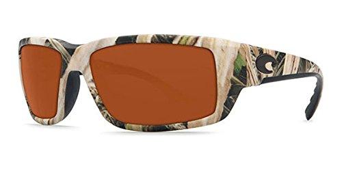 Costa Del Mar Fantail Sunglasses, Mossy Oak Shadow Grass Blades Camo, Copper 580 Plastic Lens