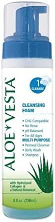 ConvaTec Aloe Vesta Cleansing Foam 8 oz (Pack of 4)