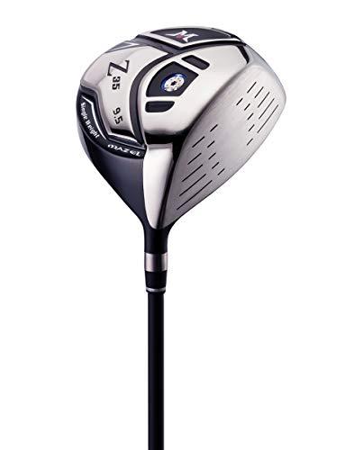 MAZEL Titanium Golf Driver for Men,Right Handed,460CC (Right, Graphite(Silver Head), Regular (R), 9.5)