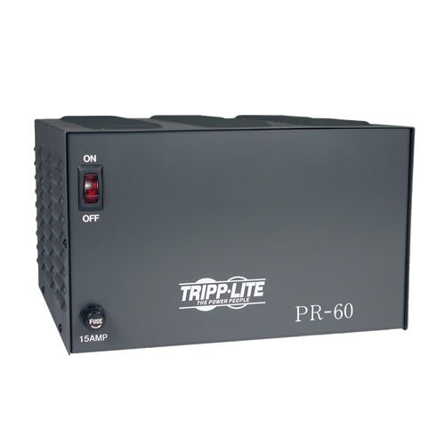 Tripp Lite PR60 DC Power Supply 60A 120V AC Input to 13.8 DC Output TAA - Power Supply Lite