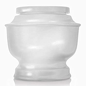 SmartChoice Classic Funeral Cremation Urn for Human Ashes a Variety of Colors Available Adult Urn with Velvet Bag White