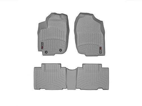- WeatherTech (46510-1-2 FloorLiner, Front/Rear, Gray